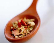 picture of spoon with herbal medicine